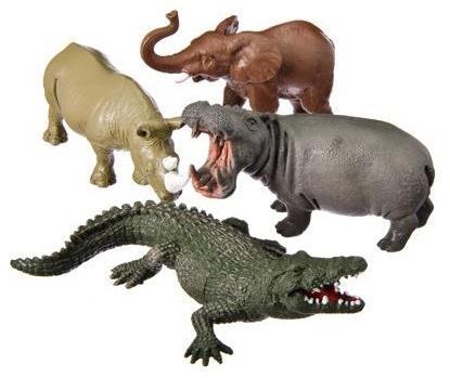 """все цены на Набор фигурок Shantou Gepai """"Jungle animal"""" 13 см Y149-1"""