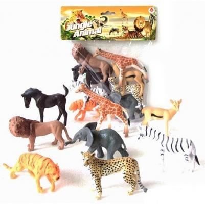"""все цены на Набор фигурок Shantou Gepai """"Jungle animal"""" 8 см 2A008-1"""