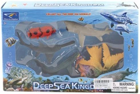 Набор фигурок Shantou Gepai Морское королевство 6002-6 shantou gepai полицейский 900 6