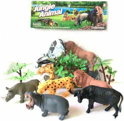 Набор фигурок Shantou Gepai Jungle animal 13 см 6927713584648