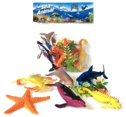 Набор фигурок Shantou Gepai Морские животные H163S набор фигурок shantou gepai домашние животные 4 см 866 c31