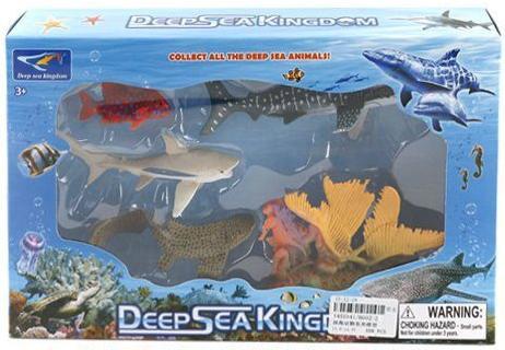 Набор фигурок Shantou Gepai Морское королевство 6002-2 6927714510417