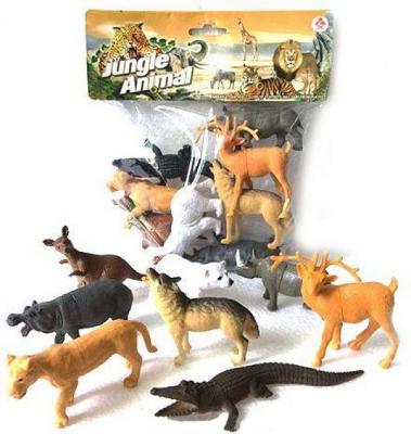 """все цены на Набор фигурок Shantou Gepai """"Jungle animal"""" 8.5 см 2A008-2"""