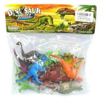 Набор фигурок Shantou Gepai Dinosaur world K112 набор фигурок good dinosaur нэш и стегозавр 62303