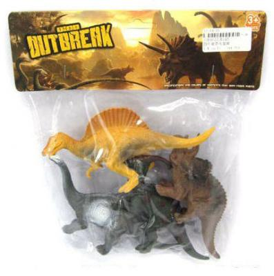 Набор фигурок Shantou Gepai Динозавры K145 набор фигурок shantou gepai дикие животные