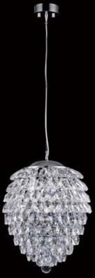 Подвесной светильник Crystal Lux Charme SP3+3 LED Chrome/Transparent подвесной светильник charme sp3 3 led gold transparent crystal lux 1154265
