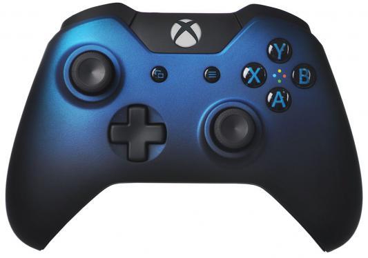 Геймпад Microsoft Xbox One GK4-00029 синий беспроводной