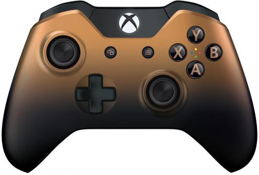 Геймпад Microsoft Xbox One GK4-00033 коричневый беспроводной