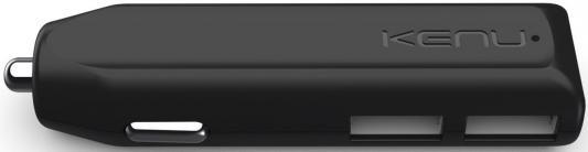 цены Автомобильное зарядное устройство Kenu Dual Trip 2.4A 2xUSB черный DT1-KK-NA