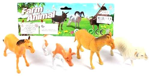 Набор фигурок Shantou Gepai Farm Animal 26 см A142-2 tomy farm приключения трактора джонни и поросенка на ферме