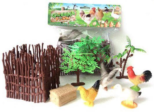 Набор фигурок Shantou Gepai Домашняя птица 2C214-2 tomy farm овцы в загоне
