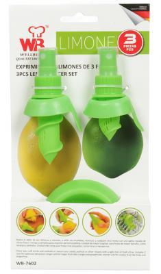 Набор соковыжималок Wellberg WB-7602 4.5 см пластик