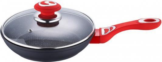 Сковорода Wellberg WB-2266 22 см алюминий сковорода с крышкой wellberg 2343 wb 8