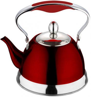 Чайник заварочный Wellberg WB-6112 красный 1 л нержавеющая сталь
