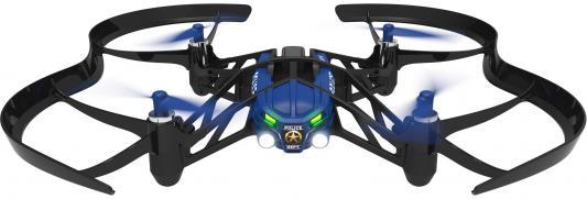 Квадрокоптер Parrot Airborne Minidrone Maclane черный/синий PF723107