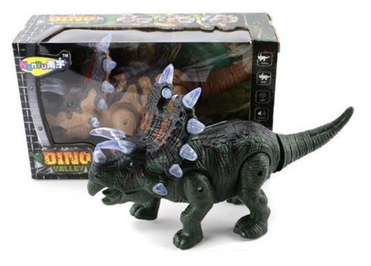 Интерактивная игрушка Shantou Gepai Динозавр от 3 лет зелёный NY005-A