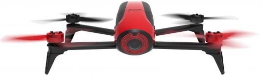 Квадрокоптер Parrot Bebop Drone 2 красный + джойстик Parrot SkyController PF726110 квадрокоптер parrot bebop 2 skycontroller