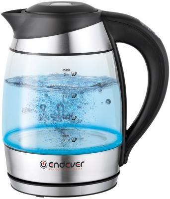 Чайник ENDEVER Skyline KR-323G 2600 Вт серебристый 2 л стекло