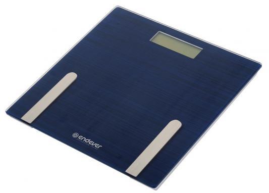 Весы напольные ENDEVER Aurora 550 синий блуза fly fly mp002xw1anfj