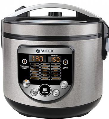 Мультиварка Vitek VT-4272(BK) черный серебристый 900 Вт 5 л nirvel professional artx 9 21 светлый блондин перламутрово пепельный 60 мл