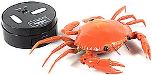 Интерактивная игрушка Shantou Gepai Краб от 3 лет оранжевый