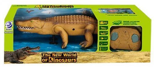 """Интерактивная игрушка Shantou Gepai """"Крокодил"""" от 3 лет коричневый"""