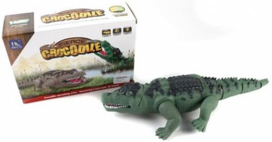 Интерактивная игрушка Shantou Gepai Крокодил от 3 лет зелёный F139A