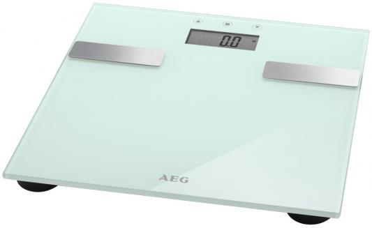 Весы напольные AEG PW 5644 FA белый вентилятор напольный aeg vl 5569 s lb 80 вт