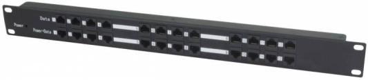 PoE-инжектор Osnovo Midspan-12/P пассивный на 12 портов удлинитель poe osnovo