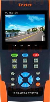 Универсальный монитор-тестер аналоговых и IP-видеокамер Tezter TIP-3,5