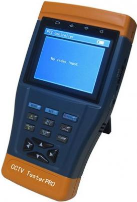 """Универсальный монитор-тестер аналоговых и IP-видеокамер TS-CAPU-M-V-3,5 3.5"""" 960х240"""