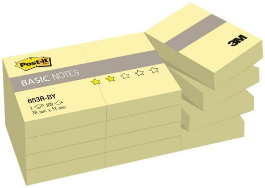 Блокнот 3M 653R-BY Post-it Basic 38х51 мм 100 листов 7100033526
