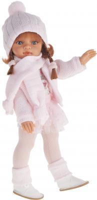 Кукла Munecas Antonio Juan Эльвира осенний образ рыжая 33 см розовая юбка 2585P