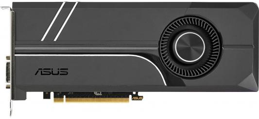 Видеокарта 6144Mb ASUS GeForce GTX1060 TURBO PCI-E 192bit GDDR5 DVI HDMI DP HDCP TURBO-GTX1060-6G Retail asus asus vp228h 21 5 черный dvi hdmi full hd