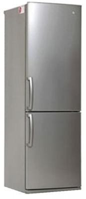 Холодильник LG GA-B379UMDA серебристый автомагнитола pioneer deh x5900bt deh x5900bt