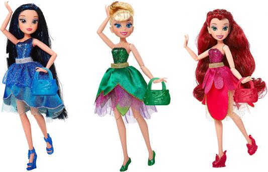 Кукла Jakks Disney Фея. Волшебное превращение 23 см в ассортименте
