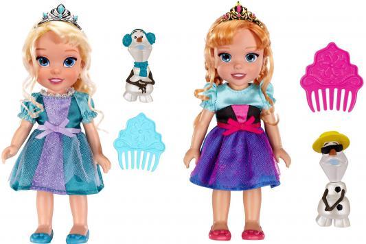 Кукла Jakks Холодное Сердце Принцессы Дисней с Олафом 15 см в ассортименте