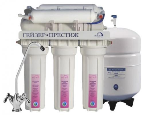 Фильтр Гейзер Престиж М 7.6л с минерализатором белый