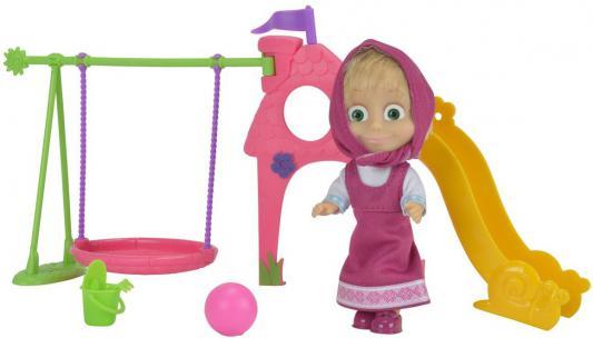 Кукла Simba Маша с детской игровой площадкой 12 см