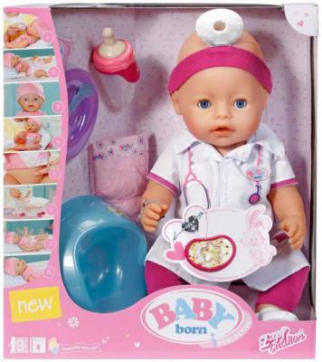 Пупс Zapf Creation Baby born - Доктор 43 см писающая плачущая