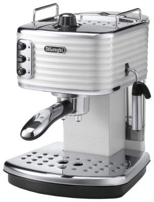 Кофемашина DeLonghi ECZ351.W белый