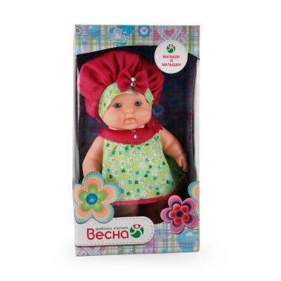 Кукла Весна Карапуз 13 20 см В2198 весна кукла карапуз 16 весна