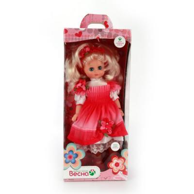 Кукла Весна Лиза 15 42 см со звуком В2143/о кукла весна лиза 1 42 см в35 о