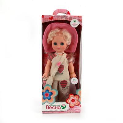 Кукла Весна Элла 2 35 см со звуком В12/о кукла весна алсу 35 см со звуком в1634 о