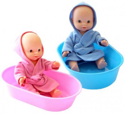 купить Пупс Игрушкин 22020 22 см в ванночке по цене 400 рублей
