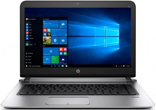 "HP ProBook 440 G3 14""(1920x1080 (матовый))/Intel Core i5 6200U(2.3Ghz)/8192Mb/1000+128SSDGb/noDVD/Ext:AMD Radeon R7 M340(2048Mb)/Cam/BT/WiFi/44WHr/war 1y/1.68kg/Metallic Grey/W7Pro + W10Pro key"