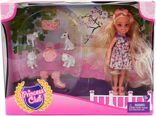 Кукла Shantou Gepai Princess Club с аксессуарами 12 см KW20916