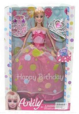 Кукла Shantou Gepai Anlily - Именинница 29 см