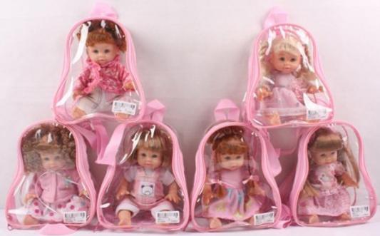 Кукла Shantou Gepai 16см в рюкзачке