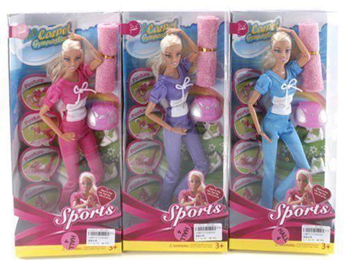 Кукла Shantou Gepai Фитнес 29 см в ассортименте